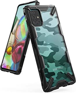 Ringke Fusion-X Designed Military Drop Tested Ergonomic PC TPU Bumper Impact Resistant Protection Back Case Cover for Sams...