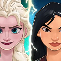 Collect & battle with 100+ Disney & Pixar heroes, including characters from Frozen, The Incredibles, Robin Hood, Pirates of the Caribbean, Toy Story, Beauty and the Beast, Alice in Wonderland, plus so many more! Team up for cooperative attack mission...