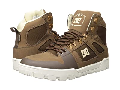 DC Pure High-Top WR Boot (Brown) Men