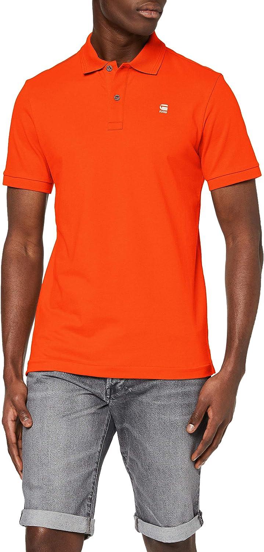 G-STAR RAW Mens Dunda Slim Polo Shirt