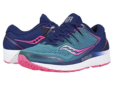 Saucony Guide ISO 2 (Teal/Pink) Women