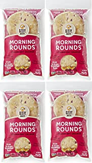 Ozery Bakery Morning Round Pita Bread, Cranberry Orange, 12.7 Ounce (Pack of 4)