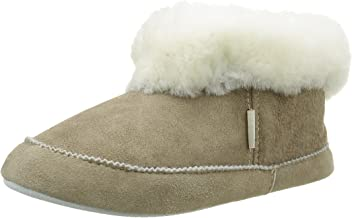 Shepherd of Sweden Emmy Stone Sheepskin Slipper Boot
