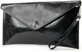 modamoda de T106G - ital Clutch Unterarmtasche Glattleder
