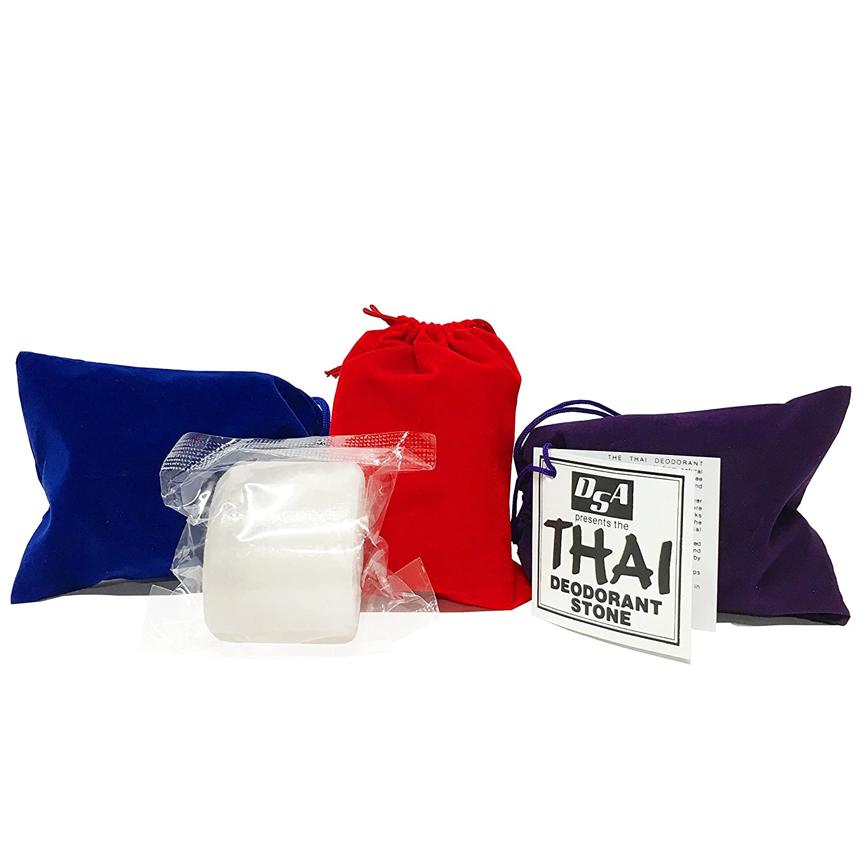 Thai Deodorant Stone Cheap Factory outlet 5.5 Velvet Pouch with Ounces