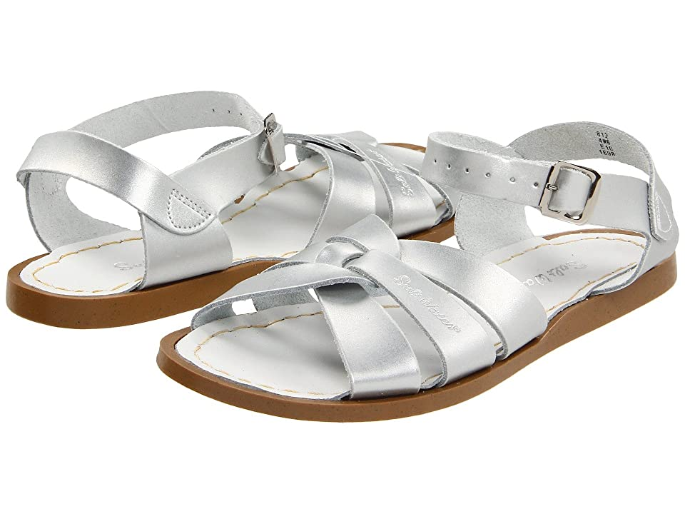 Salt Water Sandal by Hoy Shoes The Original Sandal (Big Kid/Adult) (Silver) Girls Shoes