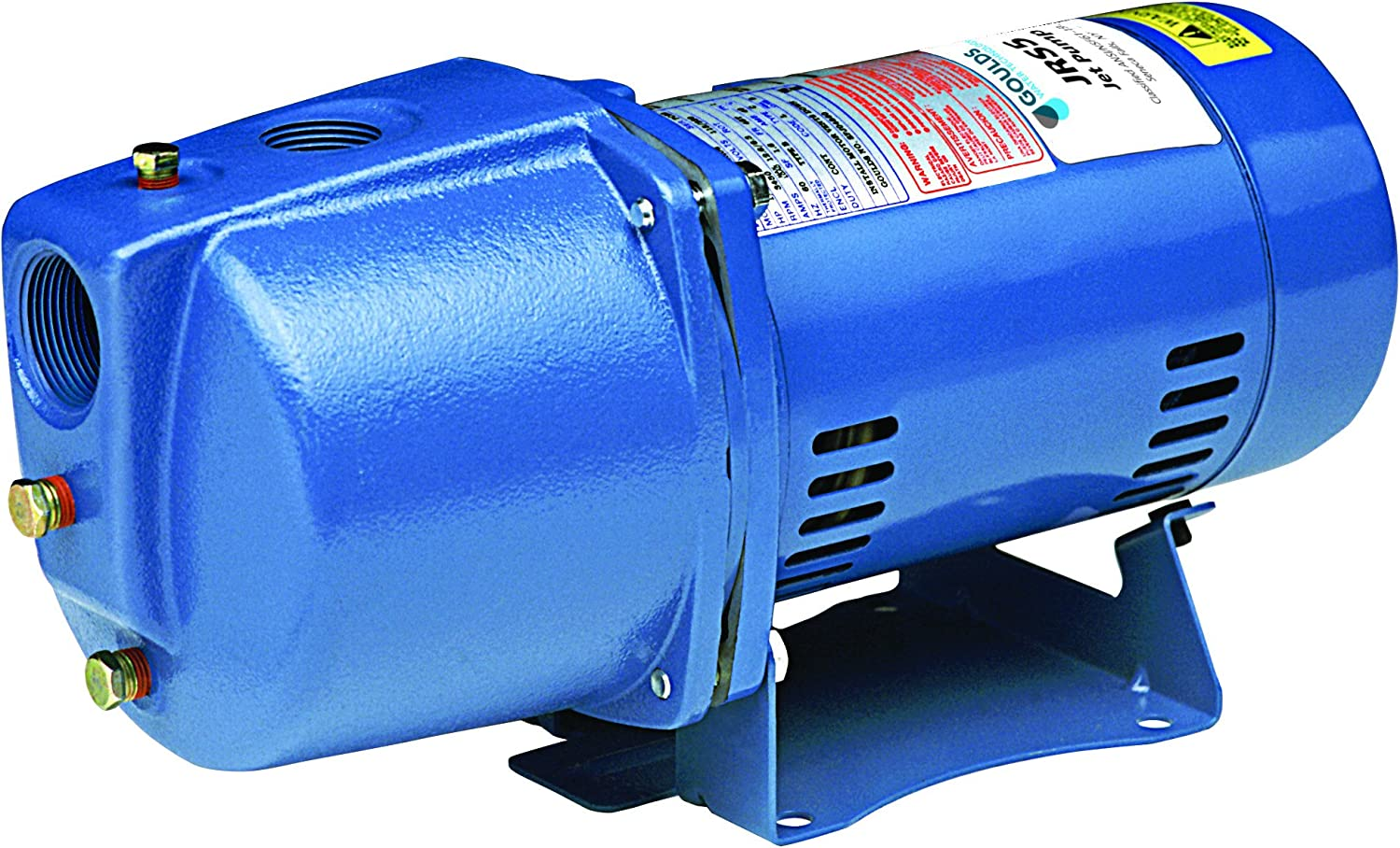 Goulds JRS10 Ranking TOP5 Shallow Water Well Jet Phase 11 Single Pump HP 1 Max 80% OFF