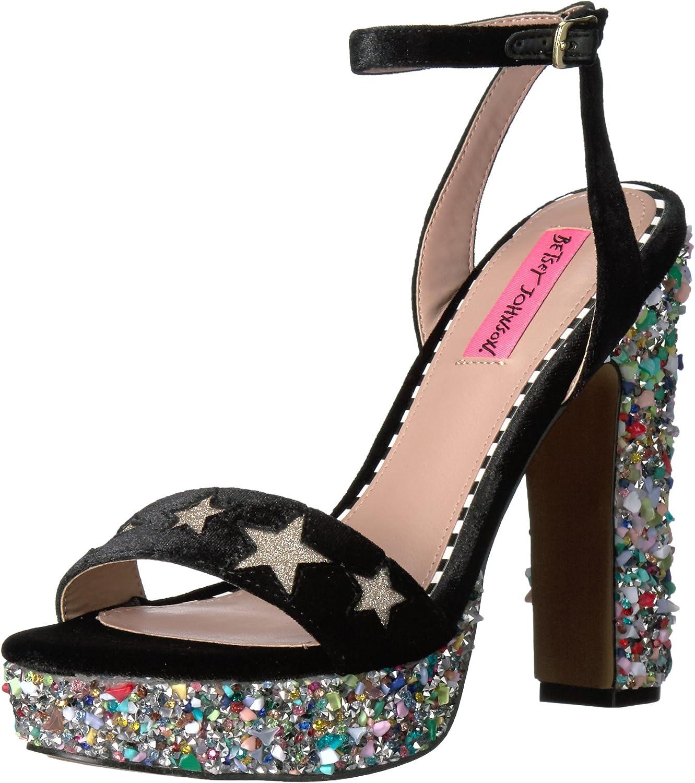 Betsey Johnson Womens Kenna Dress Sandal