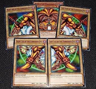 Exodia the Forbidden One - YuGiOh Legendary Decks II Yugi's God Card Complete Set LDK2-ENY04, LDK2-ENY05, LDK2-ENY06, LDK2...