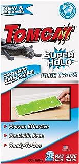 Tomcat Super Hold Rat Size Glue Traps, 2-Pack (Super Hold Formula)