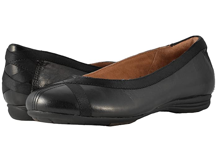 Cobb Hill Cobb Hill RevChi (Black) Women's Dress Flat Shoes