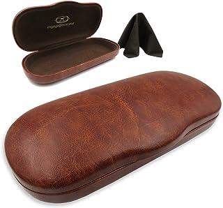 MyEyeglassCase Hard eyeglass cases w/cloth | small-medium frames | men & women