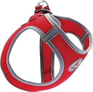 Kruz PET KZA306-14XL Reflective Mesh Dog Harness, No Pull, Quick Fit, Comfortable, Adjustable Pet Vest Harnesses for Walki...