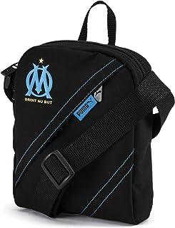 6db9858898 PUMA Sac à bandoulière Olympique de Marseille City Puma Black-AZURE BLUE UA