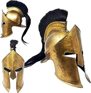 King Leonidas Medieval Greek Costume Armor Helmet 300 Movie Armor