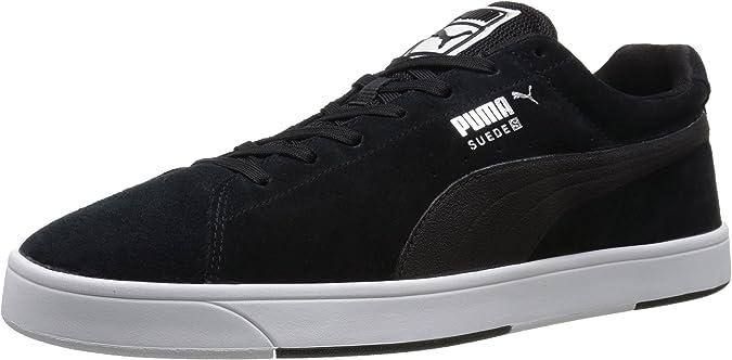 Amazon.com | PUMA Men's Suede S Lace-Up Fashion Sneaker | Fashion ...