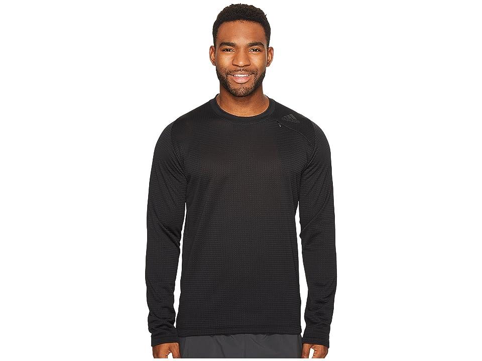 adidas Athlete ID Long Sleeve Cover-Up (Black) Men