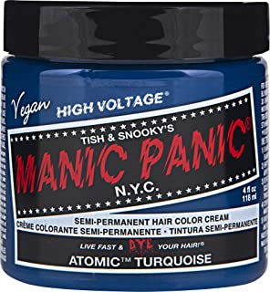 manic panic electric lizard unbleached hair