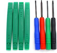 KECRULV Xbox PC Set di cacciaviti 32 in 1 magnetici di precisione professionale per smartphone orologio occhiali campanello PS4 tablet iPhone