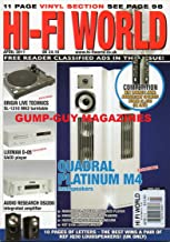 Hi-Fi World UK April 2011 QUADRAL PLATINUM M4 & KEF Q100 LOUDSPEAKERS Origin Live Technics SL-1210 MK2 Turntable LUXMAN D-...