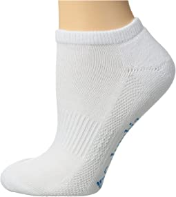Half Cushion Side Mesh Athletic Socks No Show 3-Pack