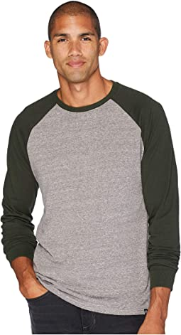 Tri-Blend Long Sleeve Contrast Raglan Tee