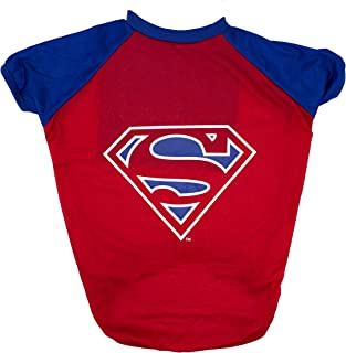 DC Comics Superhero T-Shirts for Dogs   Soft Tees for Dogs and Puppies in Batman, Superman, Wonder Woman Tees for Dogs