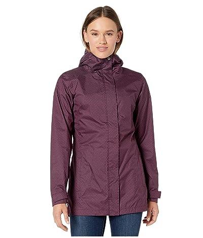 Columbia Splash A Little II Rain Jacket (Black Cherry Mini Hex Print) Women