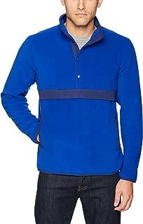 Starter Men's Polar Fleece Snap-Collar Pullover Jacket, Amazon Exclusive