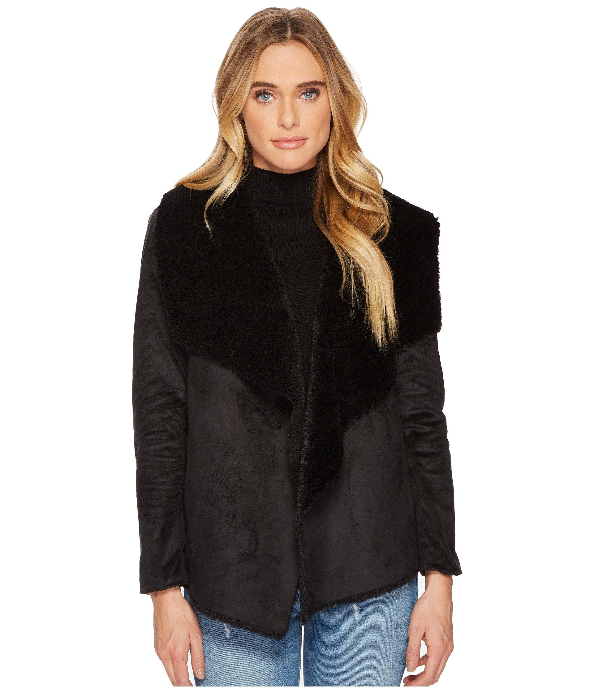 Benette Faux Suede Sherling Jacket
