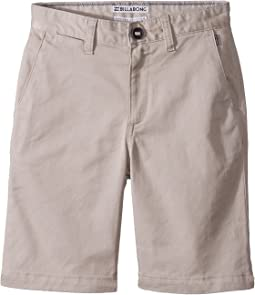 Billabong Kids Carter Stretch Walk Shorts (Toddler/Little Kids)