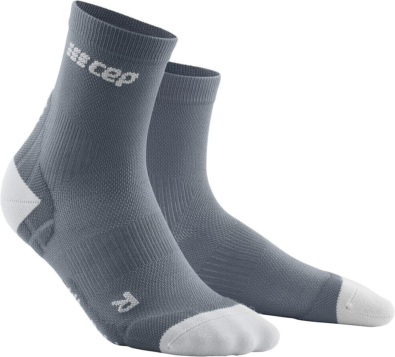 CEP ultralight short socks, grey/light grey, men III