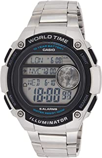 Casio Casual Watch Digital Display For Men Ae-3000Wd-1Av
