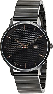 Tommy Hilfiger Mens Quartz Watch, Analog Display and Stainless Steel Strap 1791655
