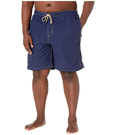 Polo Ralph Lauren Big & Tall Big and Tall Nylon Kailua Swim Trunks (Newport Navy) Men