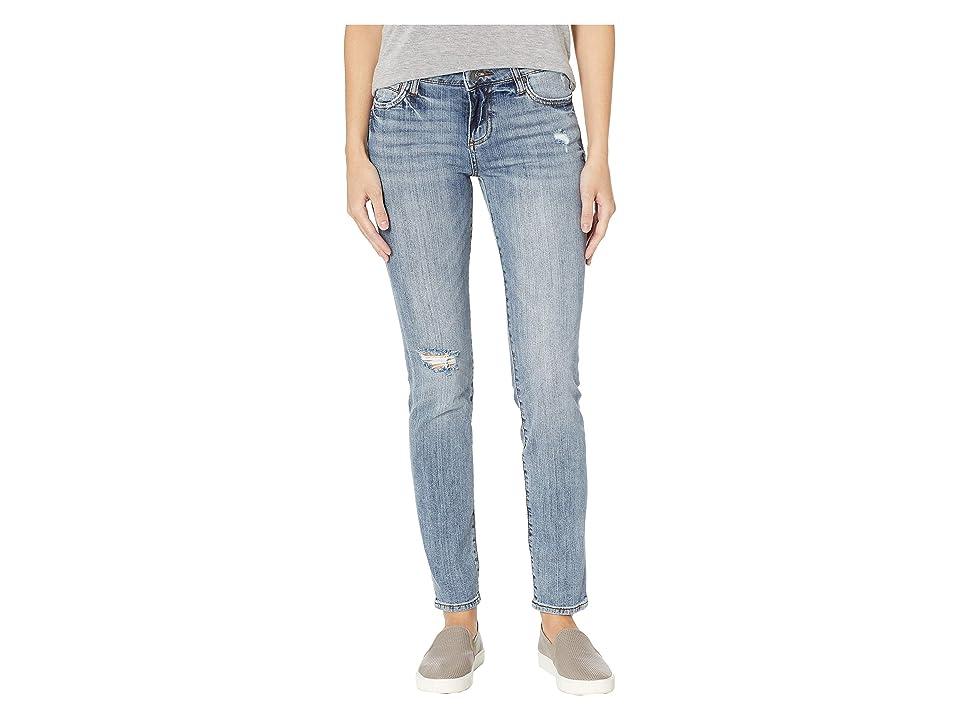 KUT from the Kloth Catherine Boyfriend Jeans in Commit w/ Medium Base Wash (Commit w/ Medium Base Wash) Women
