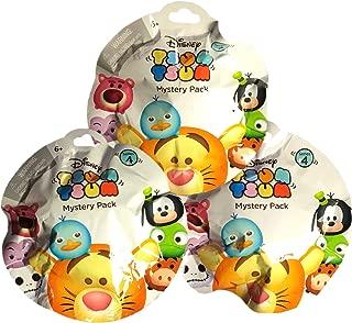 Tsum Tsum Disney Mystery Pack Series 4 Bundle of 3