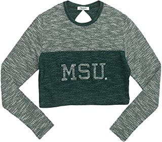 Michigan State University Terry Crop Top- Spartans