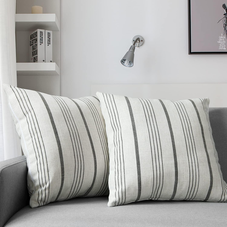 Merrycolor Decorative Farmhouse Throw Pillow x18 [Alternative dealer] Covers gift Inch 18