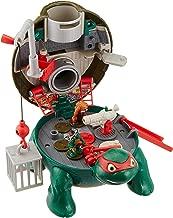 Teenage Mutant Ninja Turtles Micro Mutant Raphael's Roof Top Pet to Turtle Playset