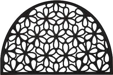 60x90 cm Half Round Semi Circle Rubber Doormat Welcome Entry Mat Perisa