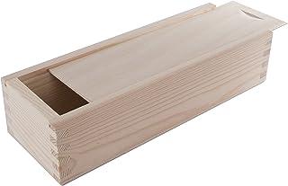 Amazon.es: caja madera tapa corredera