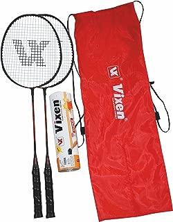 Vixen Badminton Racket Carbonium 500 Combo