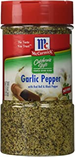 McCormick California Style Garlic Pepper - 7.5 oz.
