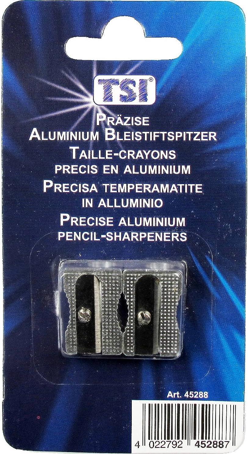 TSI Precision Aluminium Sharpener [Pack of 2