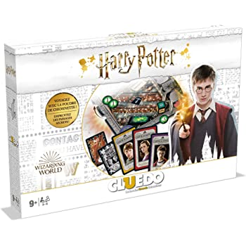 Winning Moves- CLUEDO Harry Potter-Jeu de société-Version française, 0491