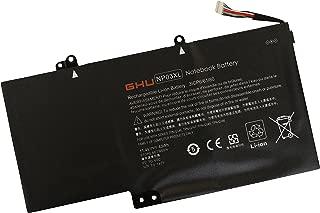 New GHU NP03XL 43wh Replacement for 760944-421 761230-005 43Wh Laptop Battery Compatible with Pavilion X360 13-A010DX 13-b1 13-b116t Envy 15-U010DX 15-U337CL 15-U050CA HSTNN-LB6L TPN-Q146 TPN-Q147