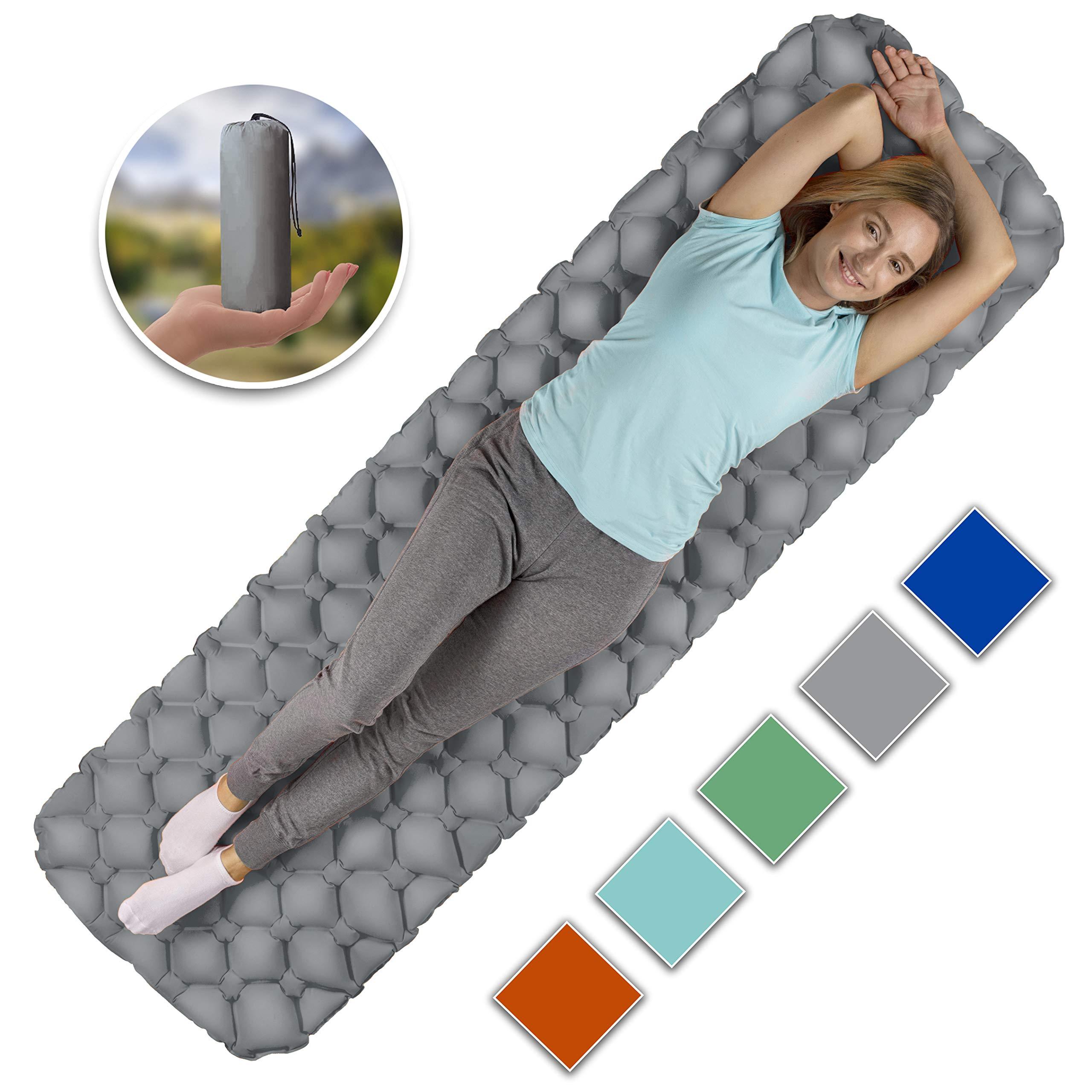Royexe Sleeping Inflatable Lightweight Backpacking