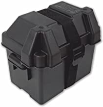 NOCO Black HM082BKS Group U1 Snap-Top Box for 12V Mobility, Scooters, Lawn and Garden Batteries