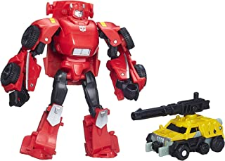 Transformers Generations Legends Class Cliffjumper and Suppressor Figures